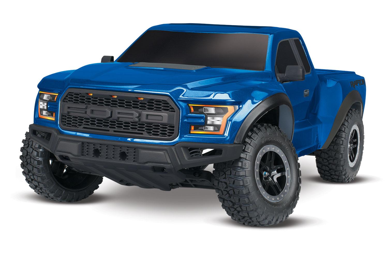 Blue Ford Raptor >> 2017 Ford Raptor 1 10 Scale 2wd Rtr Truck Blue W 3000mah