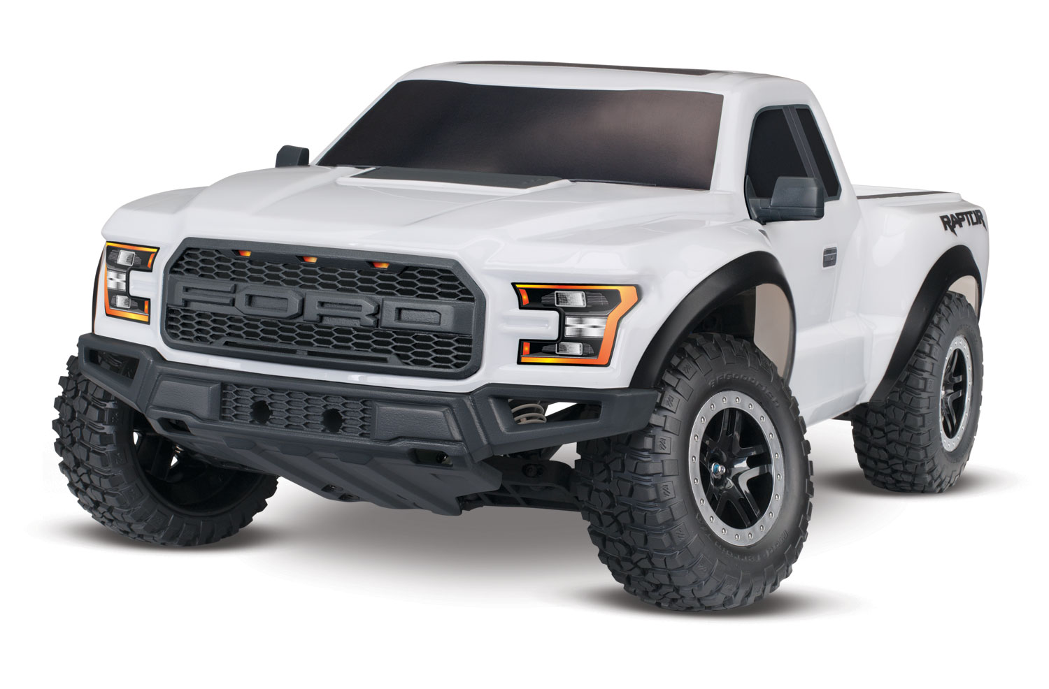 2017 Ford Raptor 1 10 Scale 2wd Rtr Truck White Tra58094 Wht